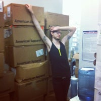 Photo taken at American Apparel by Will G. on 9/7/2012
