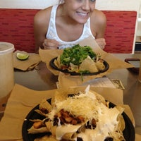 Photo taken at Qdoba Mexican Grill by Taylor S. on 8/30/2012
