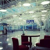 Photo taken at Terminal B (KBP) by Lina K. on 6/10/2012