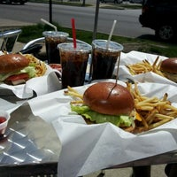 Photo taken at Burger Boss by Stefany R. on 4/7/2012