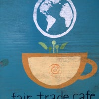 Photo taken at Fair Trade Café by Brittany on 9/6/2012