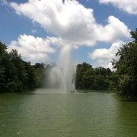 Photo taken at Parque de Los Lagos by Adriana on 7/5/2012