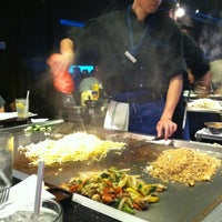 Photo taken at Wasabi Japanese Steakhouse by Brittany B. on 9/1/2012