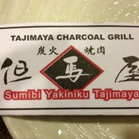 Photo taken at Tajimaya Charcoal Grill by dzae_em11 G. on 7/11/2012