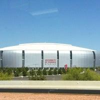 Photo taken at University of Phoenix Stadium by Carlos F. on 4/12/2012