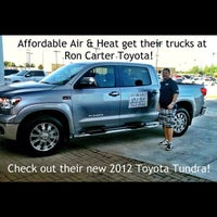 Photo taken at Ron Carter Toyota by Jimmy P. on 8/17/2012