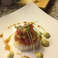 Photo taken at Blue Fin Sushi by Kerri F. on 2/3/2012