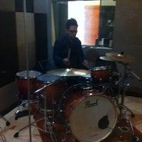 Photo taken at La Voice Music Studio by TonySaputro on 3/28/2012