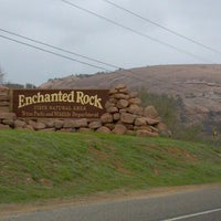 Photo taken at Enchanted Rock State Natural Area by Sydney H. on 3/15/2012