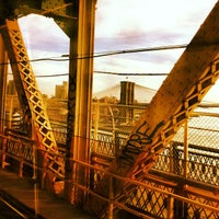Photo taken at MTA Subway - Manhattan Bridge (B/D/N/Q) by Mariana C. on 5/12/2012