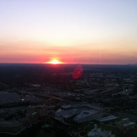 Photo taken at Sun Dial Restaurant, Bar & View by Rayanne T. on 6/27/2012