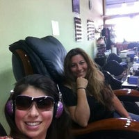 Photo taken at Hollyja Salon by Marie A. on 6/27/2012