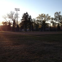 Photo taken at McRae Park by Sam H. on 4/10/2012