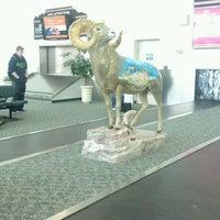 Photo taken at Billings Logan International Airport (BIL) by Omgun R. on 2/14/2012