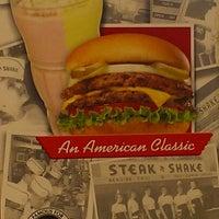 Photo taken at Steak 'n Shake by Luke R. on 8/1/2012