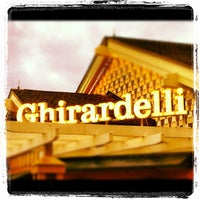 Photo taken at Ghirardelli Ice Cream & Chocolate Shop by Michael C. on 6/22/2012