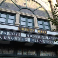 Photo taken at Liberty Hall by Rachel B. on 8/12/2012