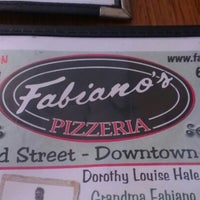 Photo taken at Fabiano's Pizzeria by Christie N. on 9/2/2012