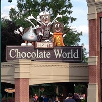Photo taken at Hershey's Chocolate World by Joyce J. on 6/16/2012