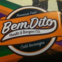 Photo taken at BemDito Steaks & Burgers by Edgard B. on 8/18/2012