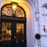 Photo taken at Hotel Bielefelder Hof by Nicole M. on 3/26/2012