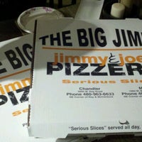 Photo taken at Jimmy & Joe's Pizzeria by Clay M. on 2/19/2012