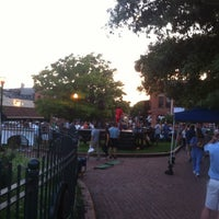 Photo taken at O'Donnell Square Park by Bailey on 8/29/2012