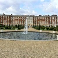 Photo taken at Hampton Court Palace Hotel by Saleh A. on 7/5/2012
