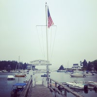 Photo taken at Southport Yacht Club by Gabe B. on 8/10/2012