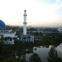 Photo taken at Masjid UNITEN by Toys T. on 4/21/2012