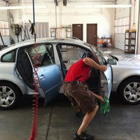 Photo taken at Platinum Car Wash by Troy H. on 6/12/2012