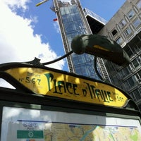 Photo taken at Place d'Italie by Nugzarius on 6/22/2012