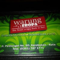 Photo taken at Warung Eropa by Christopher A. on 5/8/2012