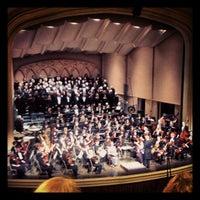 Photo taken at Macky Auditorium by 🎯Eric💀 . on 5/21/2012
