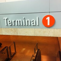 Photo taken at Terminal 1 by Nico W. on 7/27/2012