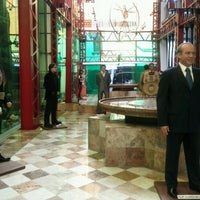 Photo taken at Museo de Cera by Lizbeth D. on 3/16/2012