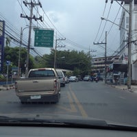 Photo taken at Saeng Phet Intersection by Poupée T. on 3/26/2012