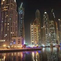 Photo taken at Dubai Marina Walk by Varghese on 6/16/2012