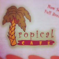 Photo taken at Tropical Café by Chase L. on 6/23/2012