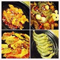 Photo taken at Tajimaya Charcoal Grill by anna banana . on 8/21/2012