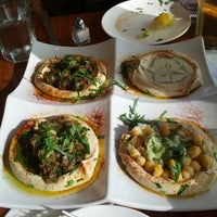 Photo taken at Hummus Kitchen by Jamal P. on 8/12/2012