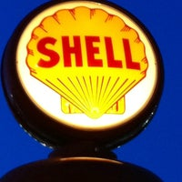 Photo taken at Shell by Troy B. on 2/16/2012
