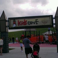 Photo taken at Kid's Cove at Mount Trashmore Park by Ashley B. on 7/22/2012