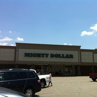 Photo taken at Mighty Dollar by Melissa G. on 6/3/2012