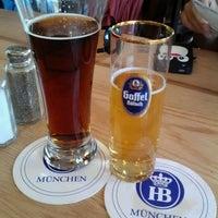 Photo taken at Max Bratwurst und Bier by Kristine S. on 5/18/2012
