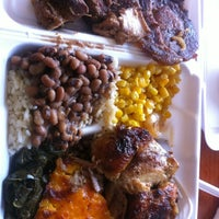 Photo taken at Manna's Soul Food Buffet by Jay T. on 5/15/2012