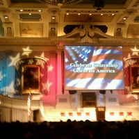 Photo taken at Mechanics Hall by Andrea C. on 7/25/2012