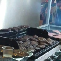 Photo taken at Burger Bakar Kaw Kaw by Andrew C. on 4/12/2012