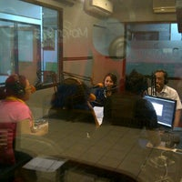 Photo taken at Motion radio studio by Keke A. on 7/24/2012