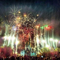 Photo taken at Wishes Nighttime Spectacular by Cris M. on 7/7/2012